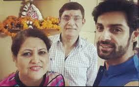 Karan Wahi Family