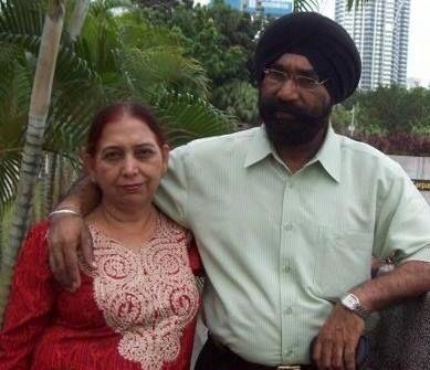 Poonam Preet Family