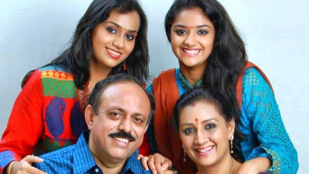 Menaka Suresh Family