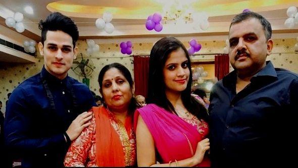Priyank Sharma Family