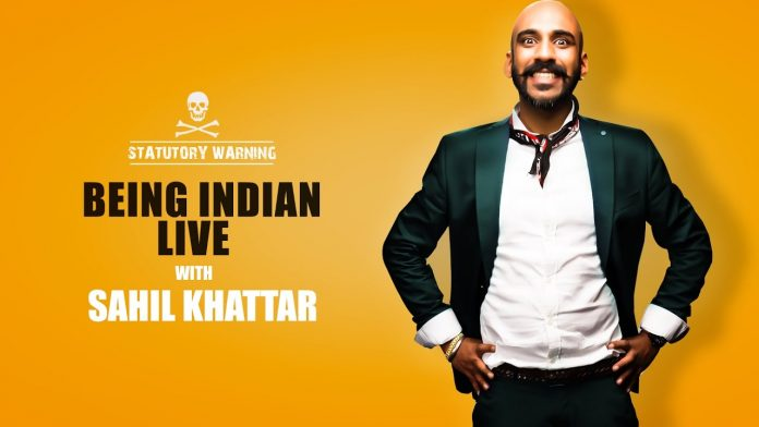 Sahil khattar being indian