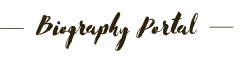Biography Portal